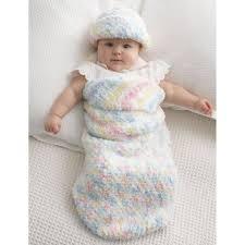 Free Pattern Bernat Baby Cocoon And Hat Hobbycraft