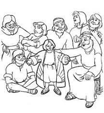 Coloring Pages See More Joseph And His Coat Of Many Colors