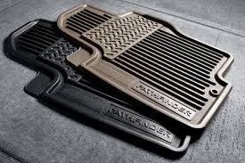 10 12 pathfinder all season floor mats rubber 3pc black