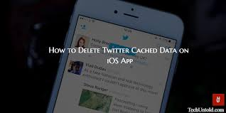 How to Delete Twitter Cached Data on iPhone iPad App