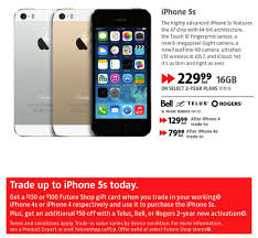 Future Shop Best Buy Trade In iPhone 4 4S for iPhone 5S Get