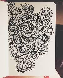 Doodle Art Best 25 Paisley Ideas Designs To