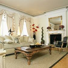 Regal White Fireplace Mantel Mirror And Large Wood Rectangle Desk Also Creamy Traditional Sofas Over Grey Living Rugs Scarf Valance Drapes Decor