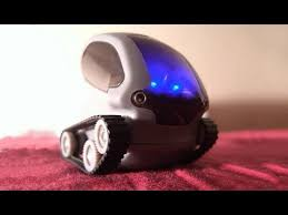 Desk Pets Carbot Youtube by Tank Bot Iphone Android Controlled A I Robot From Deskpets