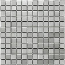 stainless steel mosaic tile 1x1 sle home improvement