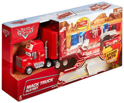 NEW Disney Pixar Cars Toy Mack Truck Playset, Lightning McQueen ... Jual Mainan Mobil Rc Mack Truck Cars Besar Diskon Di Lapak Disney Carbon Racers Launcher Lightning Mcqueen And Transporter Playset Original Pixar Cars2 Toys Turbo Toy Video Review Heavy Cstruction Videos Mattel Dkv55 Protagonists Deluxe Amazoncouk Red Tayo Amazoncom Disneypixar Hauler Carrying Case 15 Charactertheme Toyworld Story Set Radiator Springs Pictures