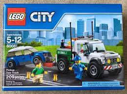 100 Lego City Tow Truck LEGO 60081 CITY Pickup NEW Sealed NISB Pinterest