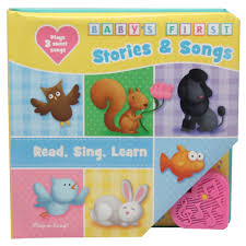 Babys First Stories Songs Read Sing Learn PlayaSound Book