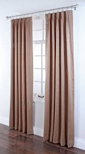 Patio Door Curtains For Traverse Rods by Portland Foam Back Pinch Pleated Drapes U2013 Rust U2013 Renaissance
