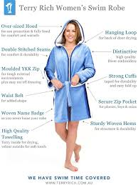 Terry Rich Australia Beach Robe Roma For Women