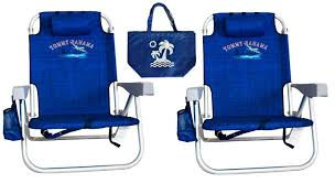 2 Tommy Bahama Backpack Beach Chairs/ Blue + 1 Medium Tote Bag ... Deals Finders Amazon Tommy Bahama 5 Position Classic Lay Flat Bpack Beach Chairs Just 2399 At Costco Hip2save Cooler Chair Blue Marlin Fniture Cozy For Exciting Outdoor High Quality Legless Folding Pink With Canopy Solid Deluxe Amazoncom 2 Green Flowers 13 Of The Best You Can Get On