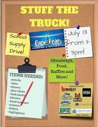 Cape Fear Flooring To Host Stuff The Truck Event : Cumberland County ...