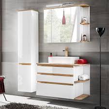 badmöbel set pl ohne waschbecken soft funktion