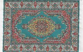 Turkish Carpet Small Turquoise Duttons Gift Shop