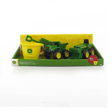 John Deere 15cm Sanbox 2 Pack - Tractor & Dump Truck With Bucket ... Tomy John Deere Carstrucks Plastic Ace Hdware 150th High Detail 460e Adt Articulated Dump Truck Toys Diecast With Skidsteer At Toystop Antique Tractor On Transport Flatbed Truck Florida Stock New Eseries Features North Americas Largest Ertl 118 Tractor Dodge 2500 V10 Dealer Pickup Farm Shop Ertl Gator Mega Hauling Set Free Shipping Salo Finland March 4 2016 Volvo Hauls W330 1955 Ford F100 Louisville Showroom Bangshiftcom Brian Lohnes Weve Found Your Perfect Peterbilt Rolloff 4020
