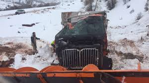 Snow Plow Crashes Over 300 Feet Into Canyon - CNN Video Choosing The Right Plow Truck This Winter Gmcs Sierra 2500hd Denali Is Ultimate Luxury Snplow Rig The Pages Snow Ice Six Wheel Drive Truckwing Back Youtube How Hightech Your Citys Snow Plow Zdnet Grand Haven Tribune Removal Fast Facts Silverado Readers Letters Ford To Offer Prep Option For 2015 F150 Aoevolution Fisher Plows At Chapdelaine Buick Gmc In Lunenburg Ma Stock Photos Images Alamy Advice Just Time Green Industry Pros Crashes Over 300 Feet Into Canyon Cnn Video