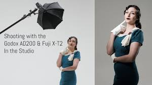 100 Fuji Studio Off Camera Flash With The XT2 Part 2 Godox AD200 In The