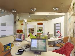 Interior Design Of Travel Agency Office Project