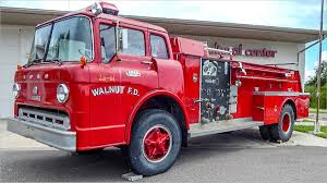 Beautiful 1961 Ford 800 C Series Fire Truck At Firehouse Cultural ...