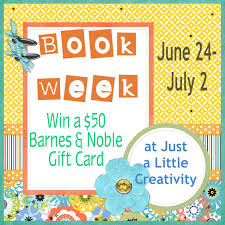 It s Book Week Win a $50 Barnes and Noble Gift Card Giveaway