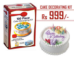 Cake Decorating Books Free by Cake Decorating Kit 100 Pcs For Rs 999 Instead Of Rs 2000