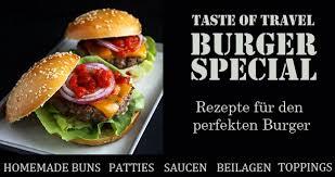 das perfekte burger patty taste of travel
