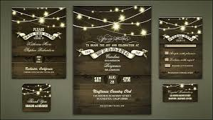 Rustic Country Wedding Invitations With Faszinierend Design Inspiration 4