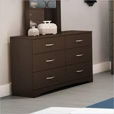 dark chocolate contemporary 6 drawer triple dresser 3159010