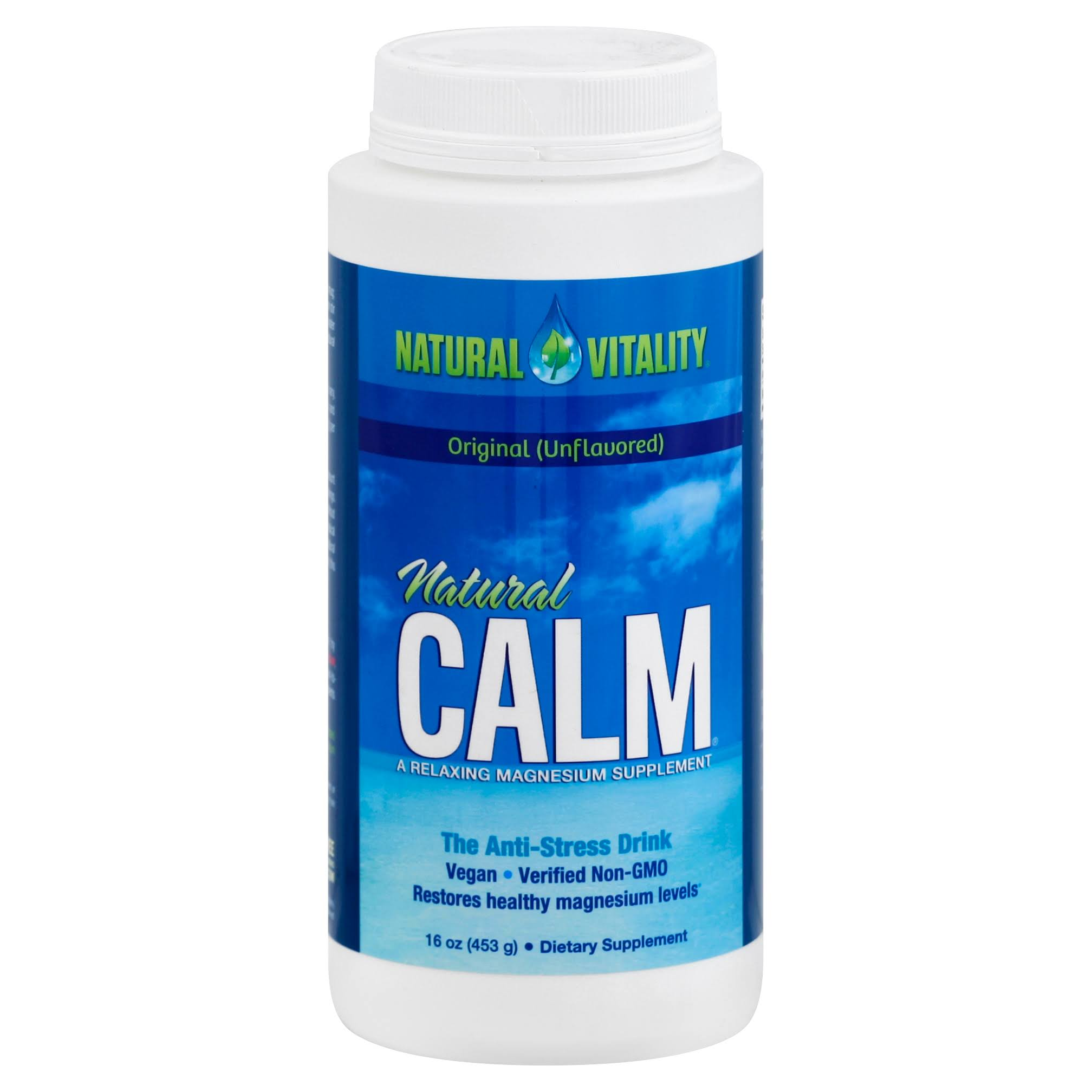 Natural Vitality Natural Calm The Anti Stress Drink - 16oz