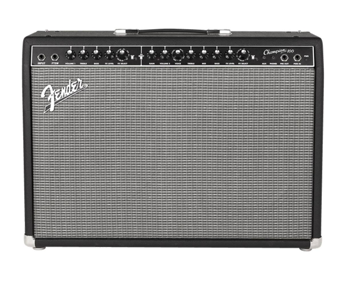 Fender Champion 100 Guitar Combo Amp with Effects - 100W