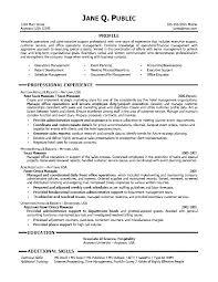 Resume Cover Letter Samples For Administrative Assistant Job Admin Sample 9 No