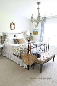 Savvy Southern Style French Guest Bedroom For Fall