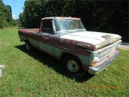 100 1969 Ford Truck For Sale F100 For ClassicCarscom CC1118317