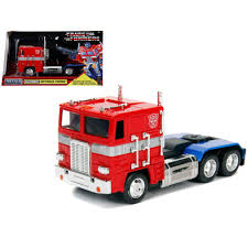 100 Transformer Truck Jada G1 Diecast Model Car Optimus Prime Autobot 1
