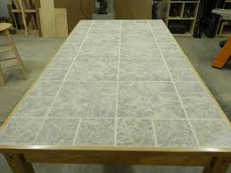 cherry dining table with tile top by rkw lumberjocks