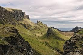 100 Rocky Landscape Quiraing Isle Of Skye Scotland Bizarre Covered