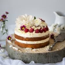 Berry Layer Cake With White Chocolate Frosting