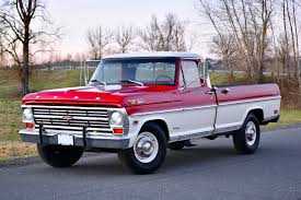 100 Sam Walton Truck 1968 Ford F250 Camper Special For Sale On BaT Auctions Sold For