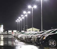replace 1000w metal halide brightest led parking lot fixture in