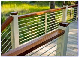 Horizontal Deck Railing Ideas by Horizontal Aluminum Deck Railing Download Page U2013 Best Home