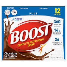 Meijer Artificial Christmas Trees by Boost Plus Complete Nutritional Drink Chocolate 12 Pk Meijer Com