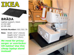 Koala Sewing Machine Cabinets by Cheap Tilt Table For Your Serger Overlocker Make Sewing More
