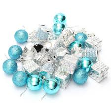 Wholesale Pack Christmas Ornament Mini Gift Box Ball Pinecone