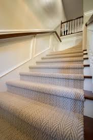 100 Studio B Home Traditional Stairs With Herringbone Carpet By