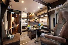 Luxury Rv Interior In These Everything Up To The Smallest Details Of Is Top