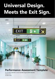 100 Exit C Universal Design Meets The Sign White Paper Performance