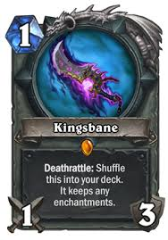Hearthstone Deck Builder Tool by Kingsbane Weapon Rogue Deck List Guide Kobolds And Catacombs Kac