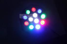 10Xlot 12X3W Led Stage Light Rgbw Flat Par Can Lights With Dmx512