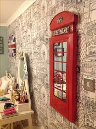 Glamorous London Themed Room Decor 53 In Home Remodel Ideas With