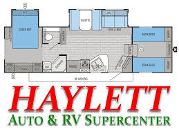 5th Wheel Campers With Bunk Beds by 2016 Jayco Eagle Ht 29 5fbds Fifth Wheel Coldwater Mi Haylett
